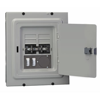 Reliance controls panellink transfer panel trb0603c 30 amp 4 8 branch circuits wmeters sciox Gallery