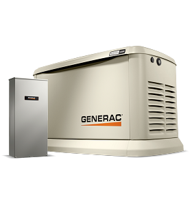 Generac Guardian 22kW Home Backup Generator with 200 amp SE ATS