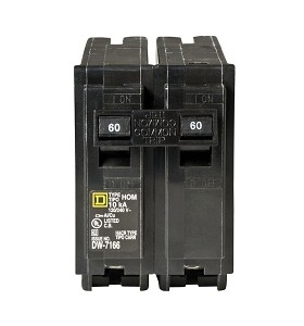 Square D Homeline 60 Amp 2-Pole Circuit Breaker